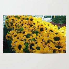 Farmer's Market Flowers Rug