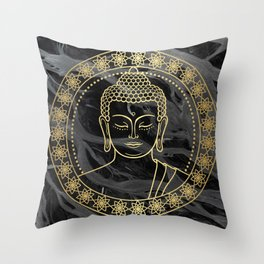 Wise Buddha  Throw Pillow