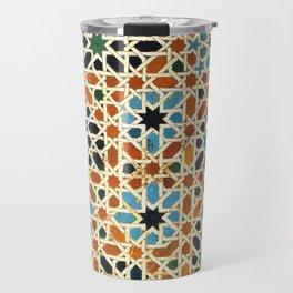 Details of Lindaraja in the Alhambra Travel Mug