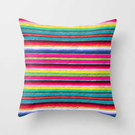 Serape II Throw Pillow