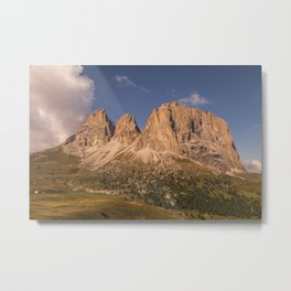 The Langkofel Group Metal Print