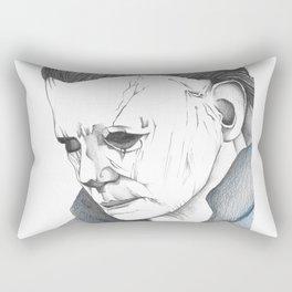 Happy Halloween, Michael Myers Portrait Rectangular Pillow