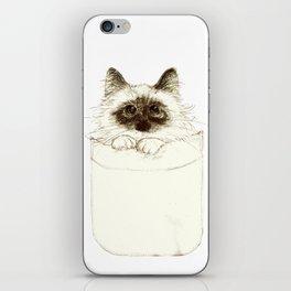 Puss in Pocket (B) iPhone Skin