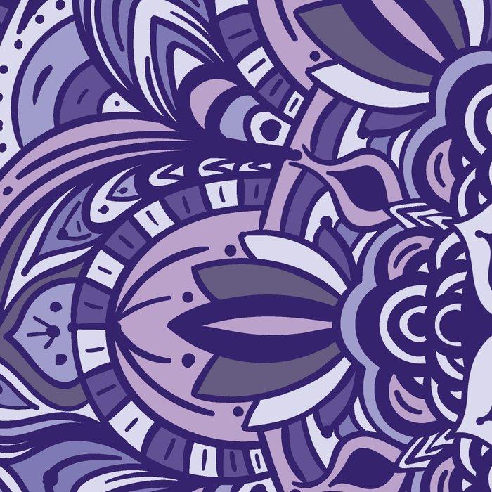 Great Purple Mandala Leggings