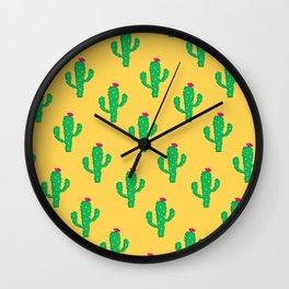 Pattern #13 B: Cactus Wall Clock