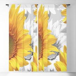 Sunflower Bouquet #decor #society6 #buyart Blackout Curtain