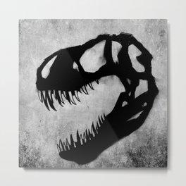 T-Rex The Tyrant King Metal Print