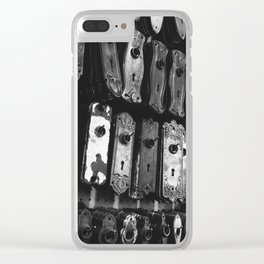 Lock & Key Clear iPhone Case