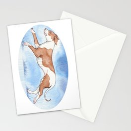 Pit bull Rescue Stationery Cards