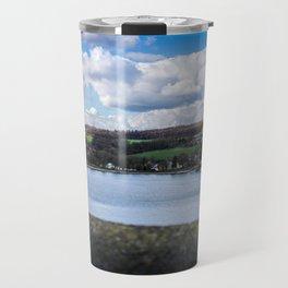 Cityscape Möhne From Reservoir Barrage Wall 2 Travel Mug