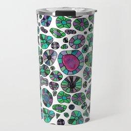 Barca Dots green/pink Travel Mug