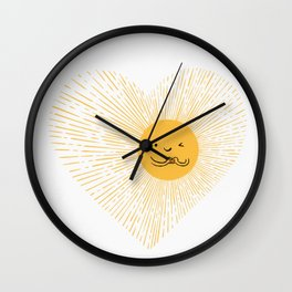 You are the Sunshine of my heart Wall Clock