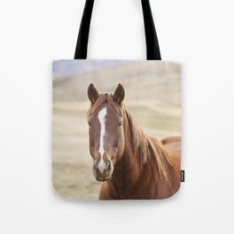 Colorful Western Horse Photo Tote Bag