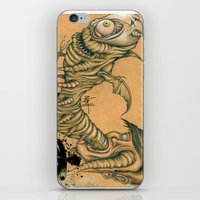 inner demons iPhone & iPod Skins featuring Inner Demons by Nash Gottfried