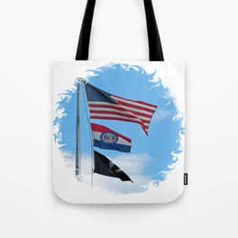 Iron County Flags Tote Bag