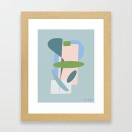 Sea-ing Green Framed Art Print