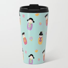Kawaii Dolls Travel Mug