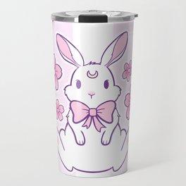 Sakura Bunny 02 Travel Mug