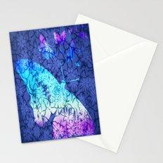Flower & Butterflies Stationery Cards