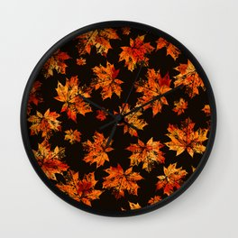 Autumn moods n.3 Wall Clock