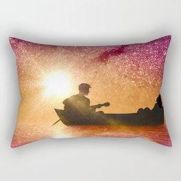 Serenade in the night Rectangular Pillow