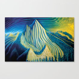 Mt Grohman Canvas Print