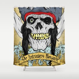 One-Eyed Willy Shower Curtain