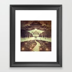 Nightly Retreat  Framed Art Print