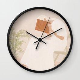 Lost Inside Wall Clock