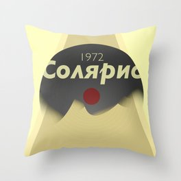 Solaris 1972 Throw Pillow