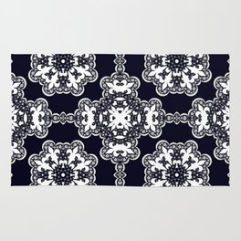 White lace 2 Rug