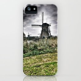 Kinderdijk Windmill - The Netherlands iPhone Case