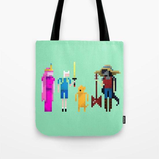 Adventure Time Gang Tote Bag