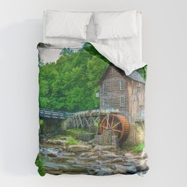 Image USA Stream Babcock State Park Nature water m Comforters