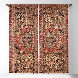 Heriz Northwest Persian Carpet Print Blackout Curtain