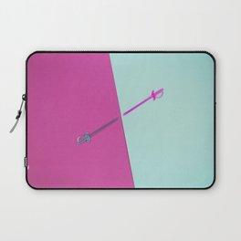 Magenta vs Cyan Laptop Sleeve