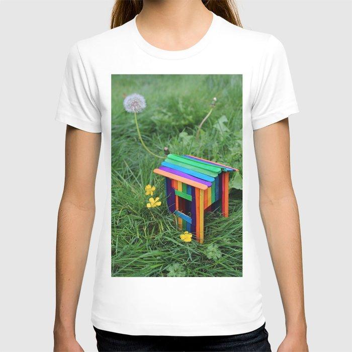 Backyard Fairy House T-shirt