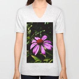 vibrant wildflower Unisex V-Neck