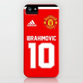Ibrahimovic Edition - Manchester United Home 2017/18 iPhone Case