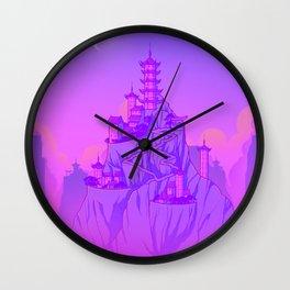 Air Temple Wall Clock