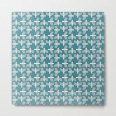 FLYING (abstract geometric pattern) Metal Print