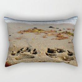 Pawprints  Rectangular Pillow