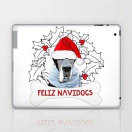 Feliz Navidog Laptop & iPad Skin