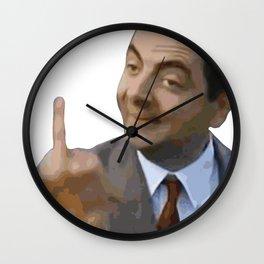 Flippin the Bird Wall Clock