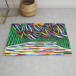 Lake Louise Art Rug