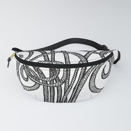Criss Cross Plant Fanny Pack