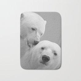 polar bears #society6 #decor #buyart Bath Mat