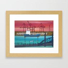 HHFischmarkt Framed Art Print