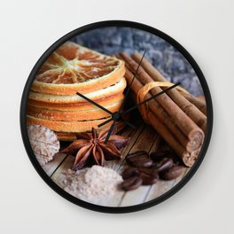 Spices Of Life Wall Clock