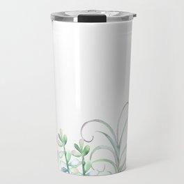 Succulents in The Garden Travel Mug